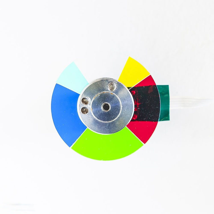 All brands projector color wheel for Infocus ,Optoma, infocus projectors