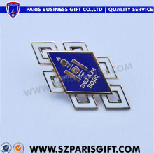soft enamelled split joint rhombus pins for sales