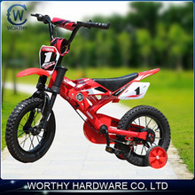 "Red and blue color 12"" Kids Gas Dirt Bikes"