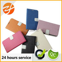 Good quanlity stand flip leather case for Samsung galaxy note 2,wallet leather case for samsung galaxy note 2