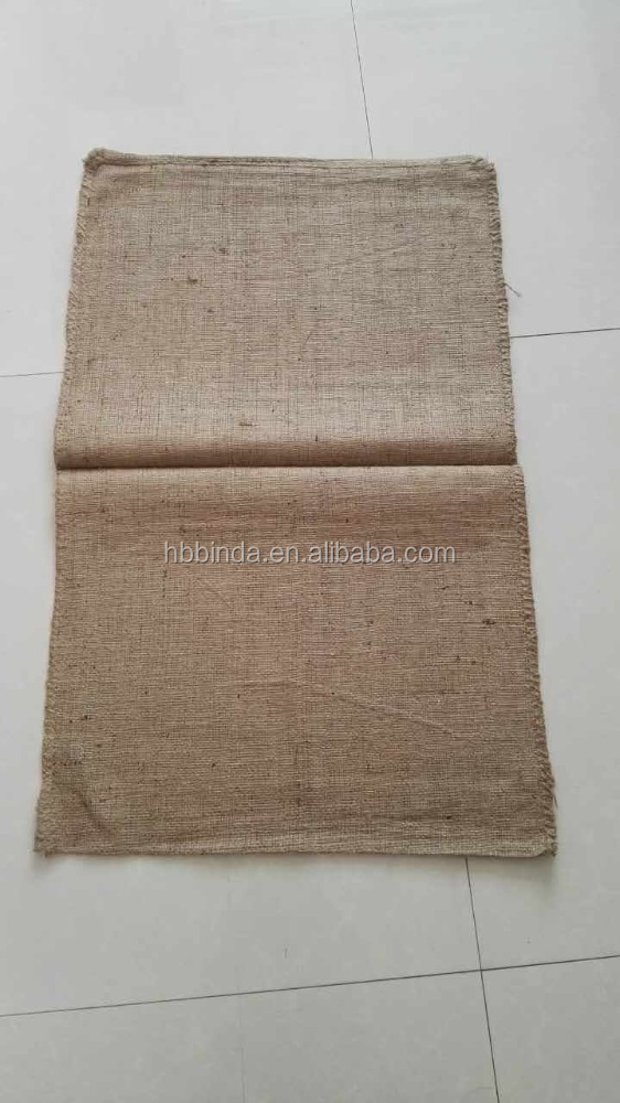 Sand bag ,100% nature new Jute bag,any sizes,good quality and price.manufactory directly.Hot sale.