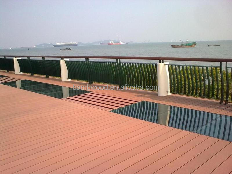 2015 new style water resistance High quality wpc decking for outdoor