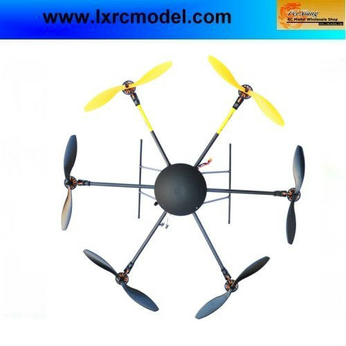 LOTUS RC UFO T700 Folding Hexacopter FPV Aircraft RC Multicopter Frame ARF