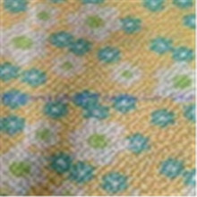 polyester cotton print seersucker / seersucker fabric