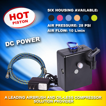Portable Airbrush compressor Kit AS-204A