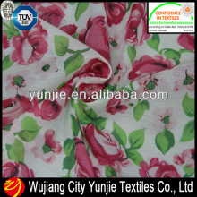 100%SPUN FLORAL LADIES SUMMER DRESS FABRIC