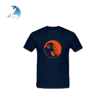 China supplier custom printing 100% cotton el t-shirt