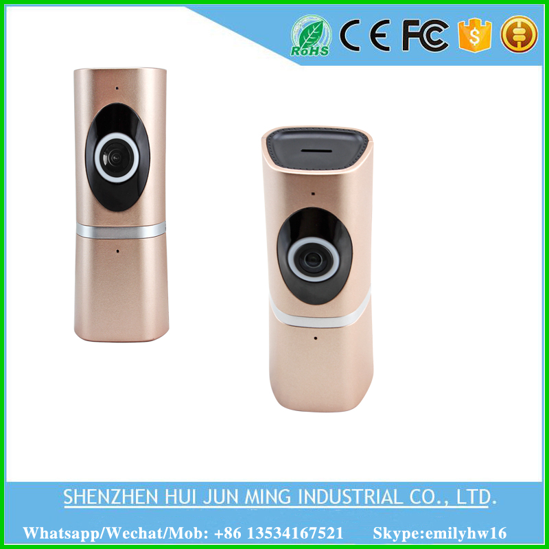 Wireless Wifi Ip Camera 720P 180 Degree wireless indoor Fisheye Panoramic IP Camera Support P2P video Baby Monitor