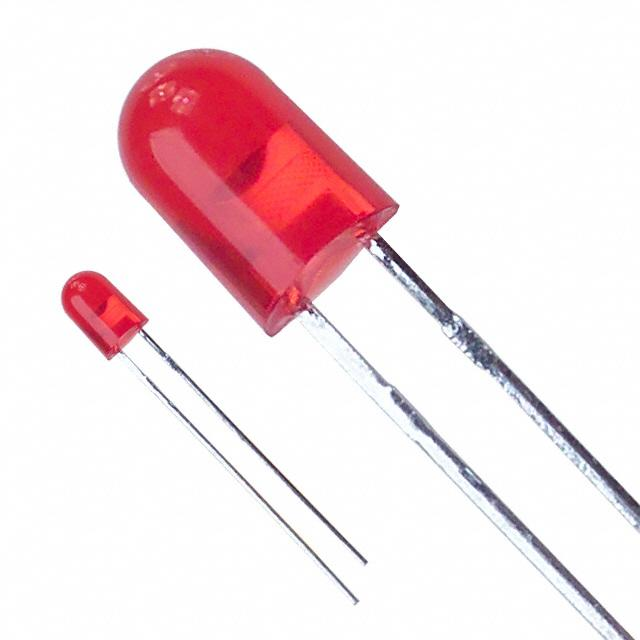 Original LED RED DIFFUSED AXIAL 1.8V HLMP-6300-KL000 HLMP-6300-KL000-ND 13.15mcd HLMP
