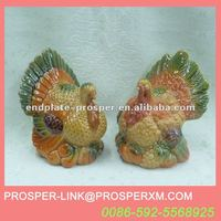 wholesale ceramic turkey decoration