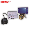 Water Leakage Detection home security system with EU Power Plug Include Wired Leaking Alarm Sensor