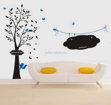Vinyl Wall Stickers kids Cartoon Squirrel Chalkboard Sticker Wall Art Sticker