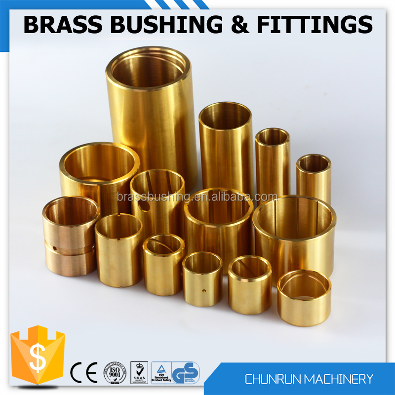 nickle plated brass bush fu oilite materilas spherical bronze bush brass screw bushes