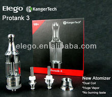 2014 Best Selling Products Kanger protank 3 Dual Coils cartomizer