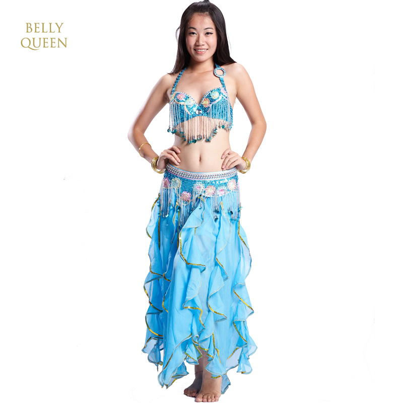Professional belly dancing costumes,belly dancing outfit,BellyQueen