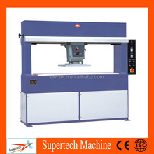 25T automatic leather cutting machine, hydraulic traveling head leather die cutting press machine, leather splitter