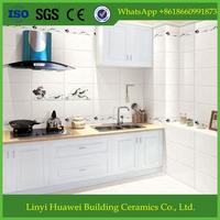 wavy white wall tile / living rooms interior wall tile design / natural stone tiles