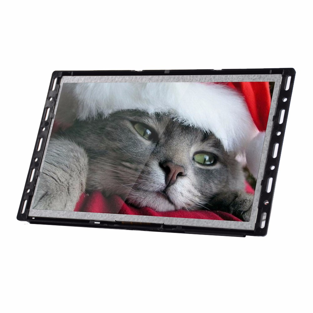 7''10'' Inch Open Frame LCD Advertising Player Screen / 10 inch touch screen hdmi led monitor