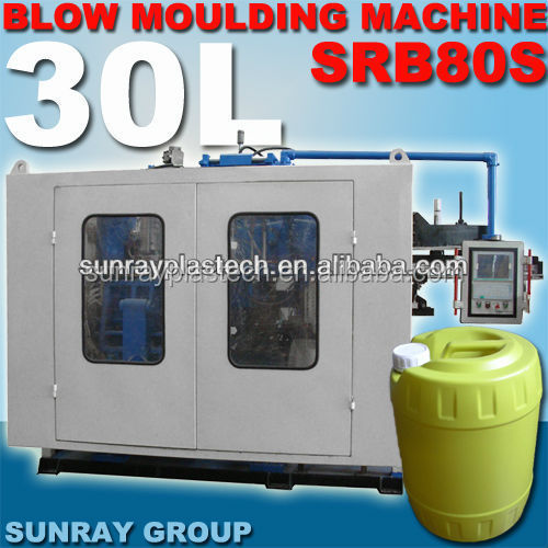 low cost plastic middle hollow bottle blow moulding machine