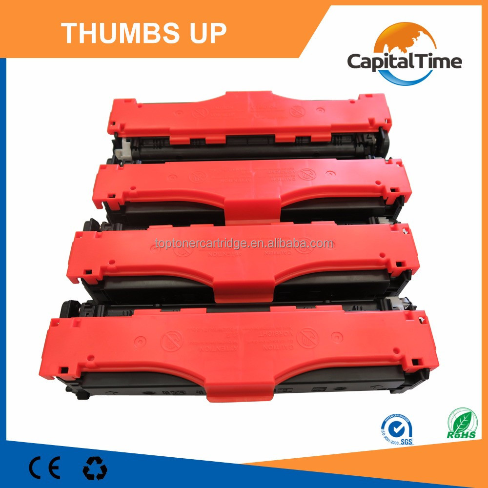 Toner Cartridge for HP 540-543 with Mitsubishi toner powder high quality