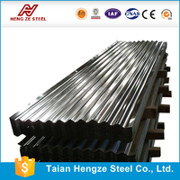 corrugated zinc aluminium roofing steel sheet hot dip galvanized steel coil in sheet