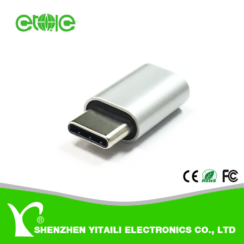 New Premium USB 2.0 Micro female to USB 3.1 Type C male <strong>Adapter</strong> for Android