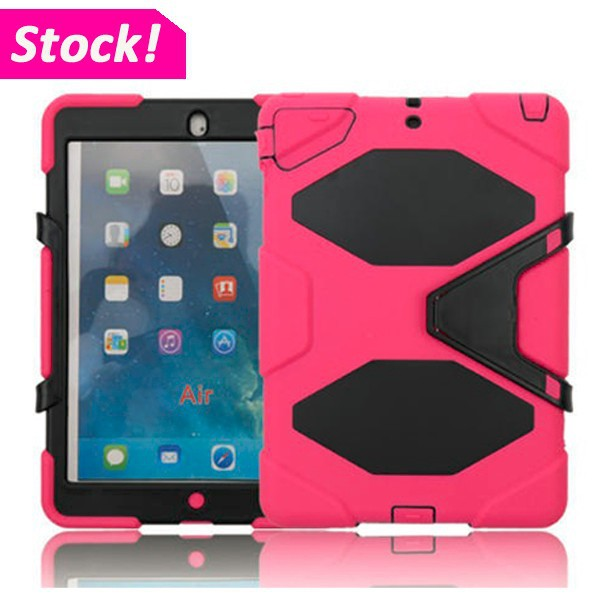 Heavy Duty Rugged Waterproof Shockproof Military Duty Hard Tablet Case For iPad Air