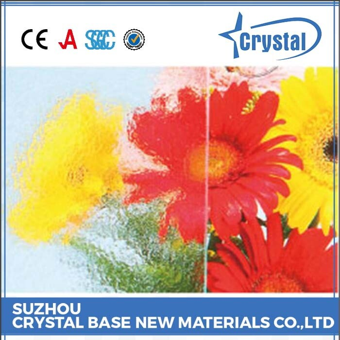 Professional Manufacturer Thickness Custom Color 6mm Art Glass
