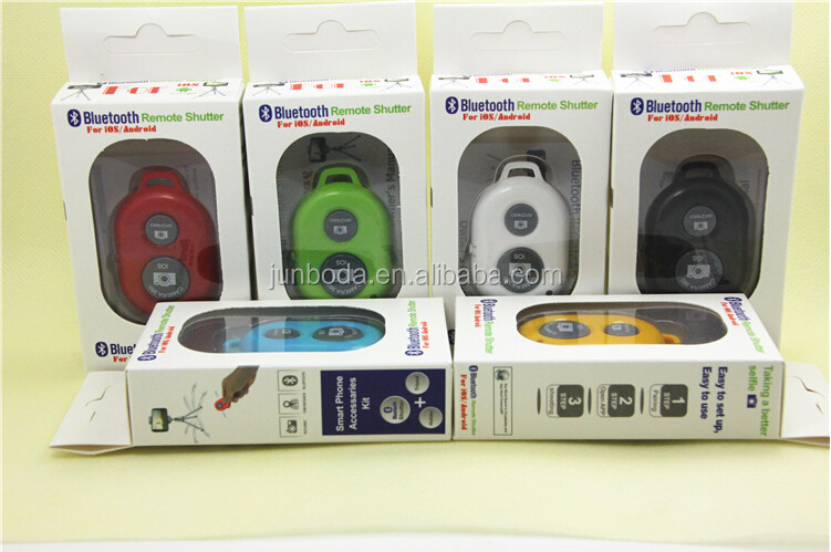 hot sale bluetooth selfie remote shutter for iphone