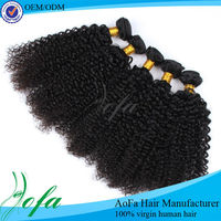 Factory price and wholesale mongolian virgin kinky curly hair