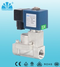 Yongchuang stainless steel solenoid valve high pressure for filling machine boiler