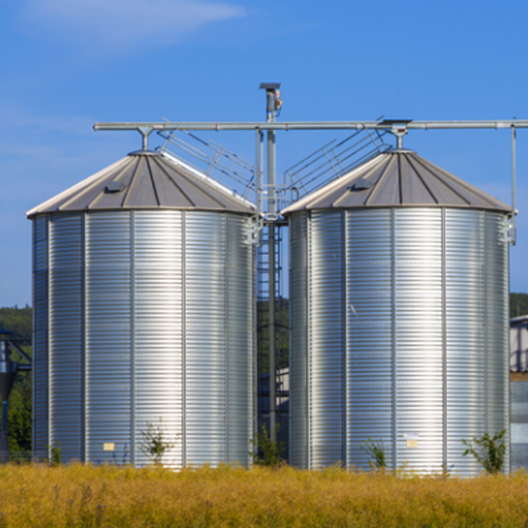 Easy installation long lifespan widely used customized bolted type grain storage silo