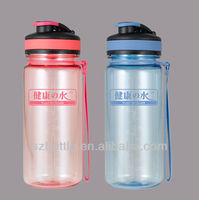 tritan water bottle/drinking bottle BPA free plastic sports bottle with sipper cap