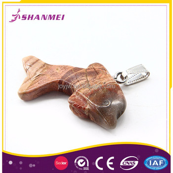 Custom Made Fashion 100% Natural Stone Pendant