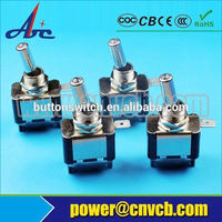 OEM Types Of Electrical Switches Manufacturer In China Beside off on on toggle switch