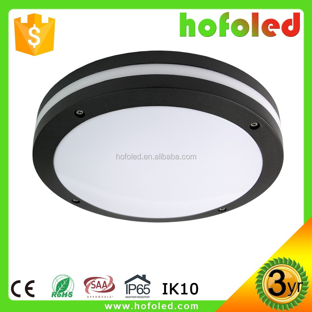 LED ceiling light motion sensor IP65 led double aluminum dome light
