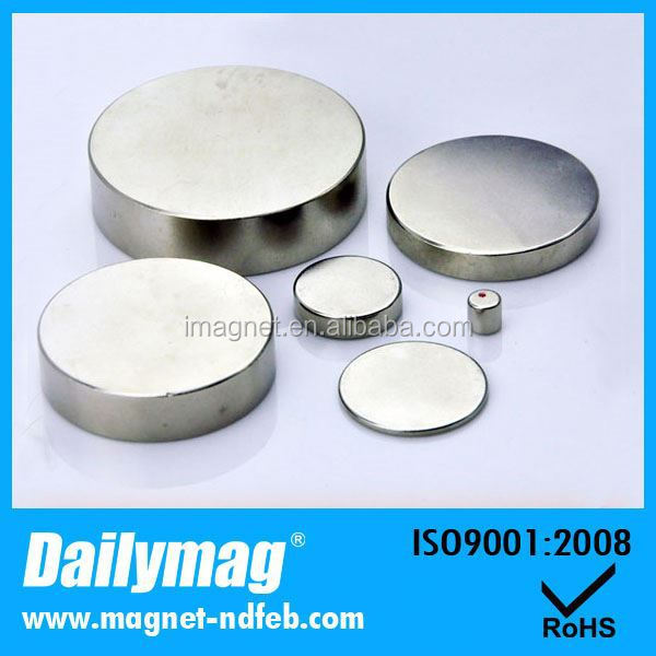 The Permanent rod neodymium magnet 50x30 Of Factory Supply
