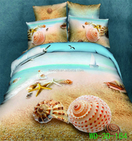 the seashell on the beach print 3d queen size jersey duvet covers