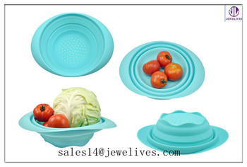 Convenient High Quality Cheap Silicone Collapsible Bowl from Shenzhen China factory