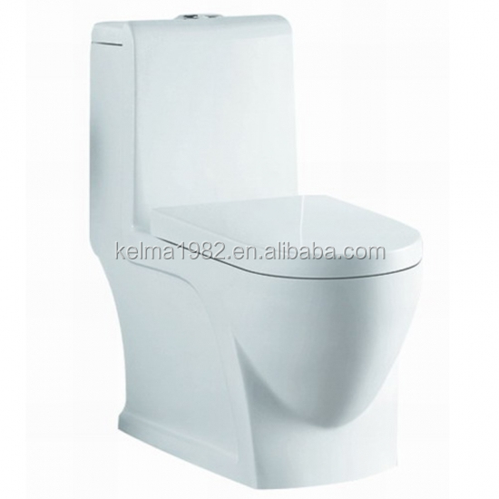 SLT-907 ceramic model one piece toilet crackle piece glaze vanity one piece toilet wc pan pedestal