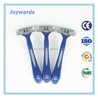 Perfect blades disposable razor for shaving