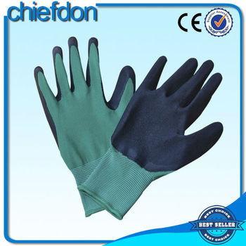 colorful CE approval heavy duty import work gloves