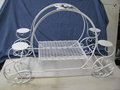 Princess Pumpkin Carriage Wedding Birthday/Wedding Cake Display Stand (CS-U-661)