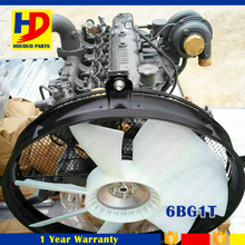 Excavator Engine Assy For Isuzu 6BG1 6BG1T Engine
