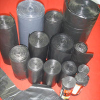 Garbage roll! China hdpe epi plastic roll garbage bags in factory price