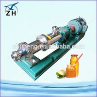 high viscous fluid pumps screw pump