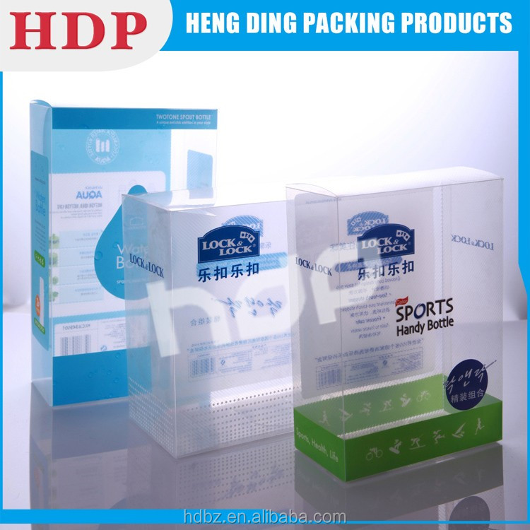 High Quality china manufacturer plastic PP clear frosted polypropylene box