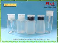 180ml Nail Polish Remover Alcohol Liquid Press Pumping Dispenser Cleaner Bottles