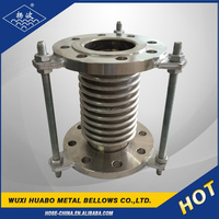 Yangbo stainless steel bellows compensator with tie rods