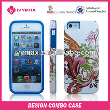 Hot 2013 design crystal case for apple iphone 5 cell phone cover